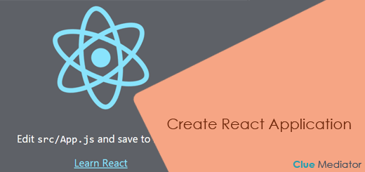 Create React Application - Clue Mediator