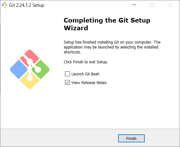 Completing Setup - How to install Git in Windows - Clue Mediator