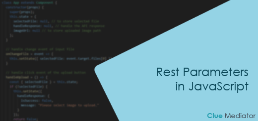 Rest Parameters in JavaScript - Clue Mediator