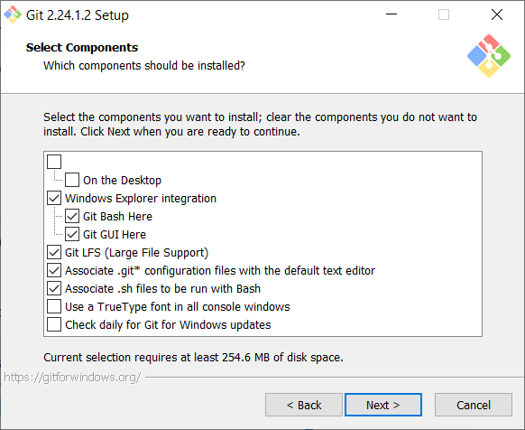 Select Components - - How to install Git in Windows - Clue Mediator