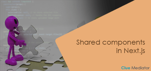 Shared components in Next.js - Clue Mediator