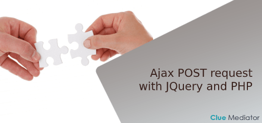 Ajax POST request with JQuery and PHP - Clue Mediator