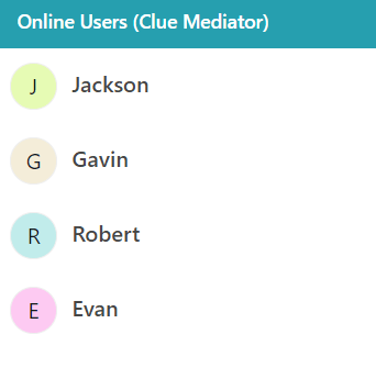 Output - Create a random color based on a string using JavaScript - Clue Mediator