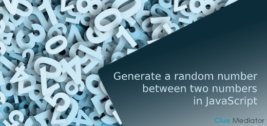 Generate a random number between two numbers in JavaScript - Clue Mediator