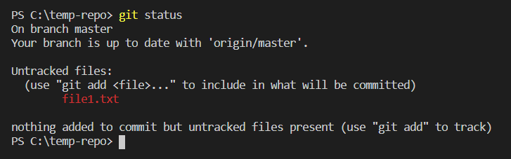 git status before commit - Clue Mediator