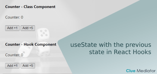 useState with the previous state in React Hooks - Clue Mediator