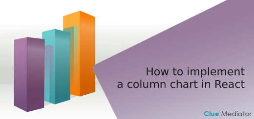 How to implement a column chart in React - Clue Mediator