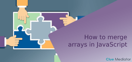 How to merge arrays in JavaScript - Clue Mediator