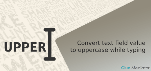 Convert text field value to uppercase while typing using jQuery, JavaScript, and CSS - Clue Mediator