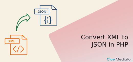 Convert XML to JSON in PHP - Clue Mediator