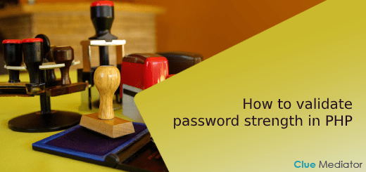 How to validate password strength in PHP - Clue Mediator