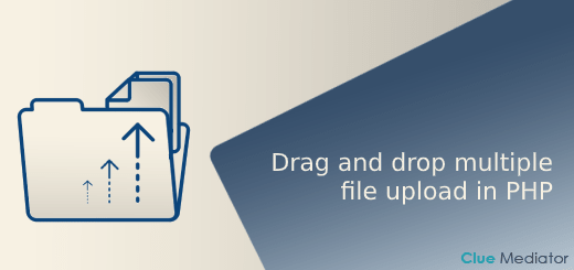 Drag and drop multiple file upload using jQuery, Ajax, and PHP - Clue Mediator
