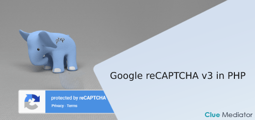Google reCAPTCHA v3 in PHP - Clue Mediator