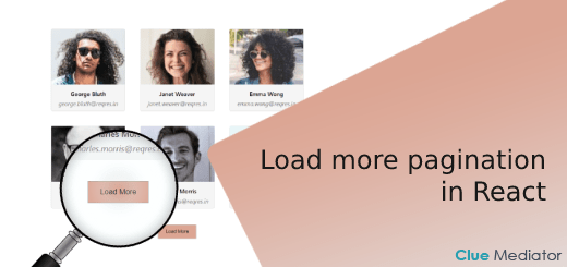 Load more pagination in React - Clue Mediator