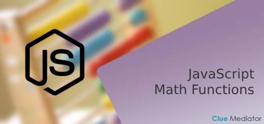 Math functions in JavaScript - Clue Mediator