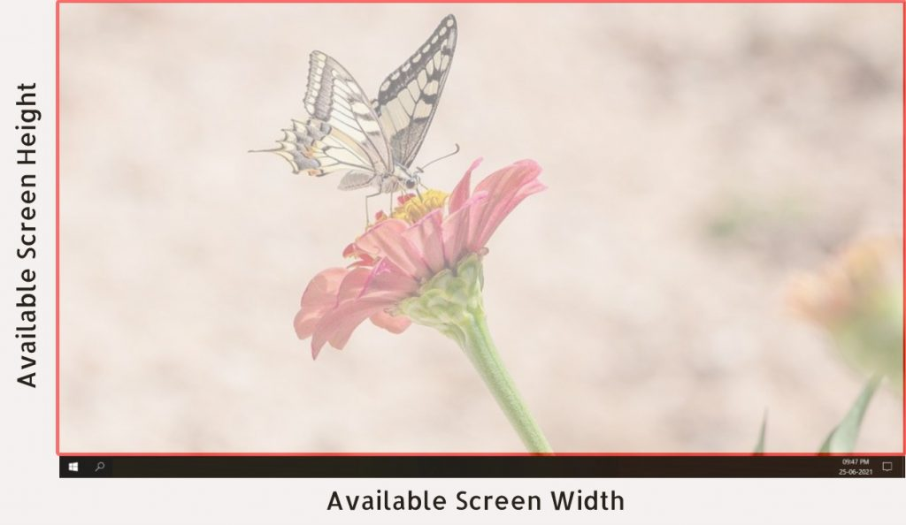 Available screen size - Clue Mediator