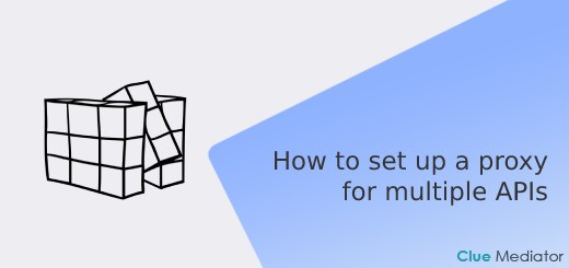 How to set up a proxy for multiple APIs in React - Clue Mediator